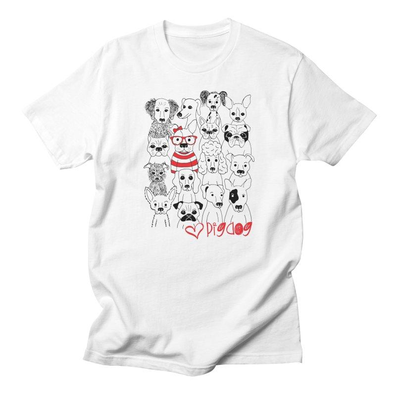 Where's Stella Men's Regular T-Shirt by Pigdog