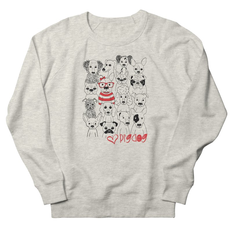 Where's Stella Women's French Terry Sweatshirt by Pigdog