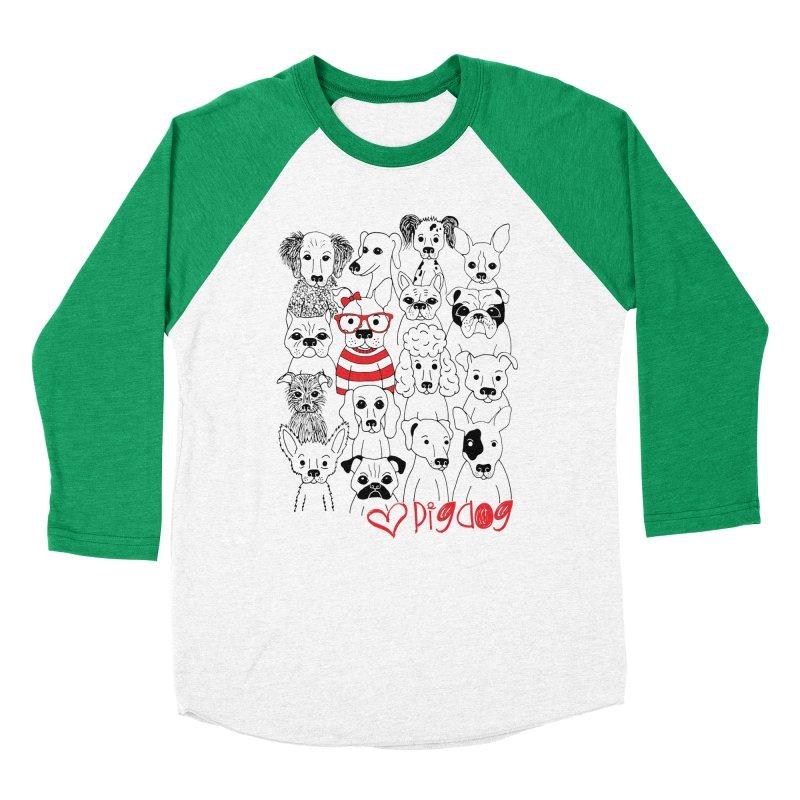 Where's Stella Women's Baseball Triblend T-Shirt by Pigdog