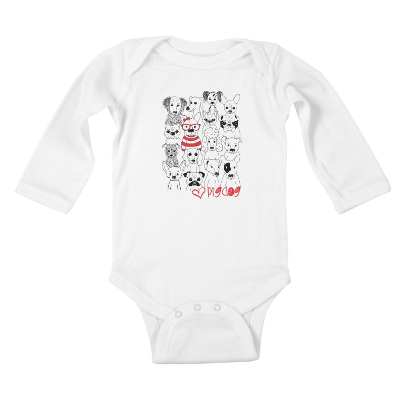 Where's Stella Kids Baby Longsleeve Bodysuit by Pigdog
