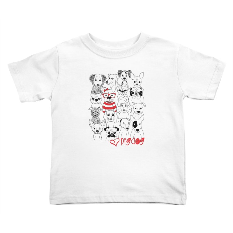 Where's Stella Kids Toddler T-Shirt by Pigdog