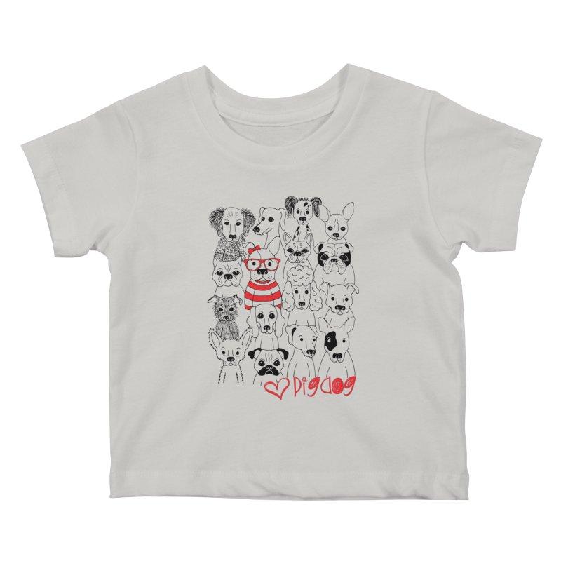 Where's Stella Kids Baby T-Shirt by Pigdog