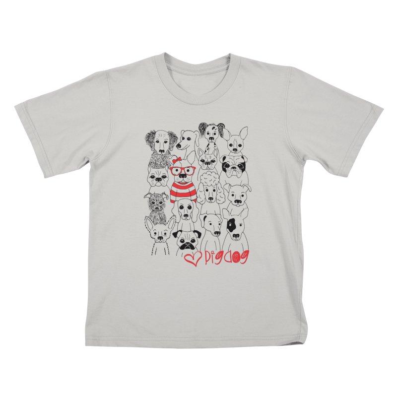 Where's Stella Kids T-shirt by Pigdog