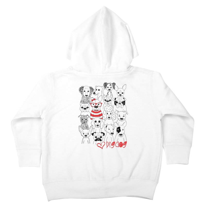 Where's Stella Kids Toddler Zip-Up Hoody by Pigdog