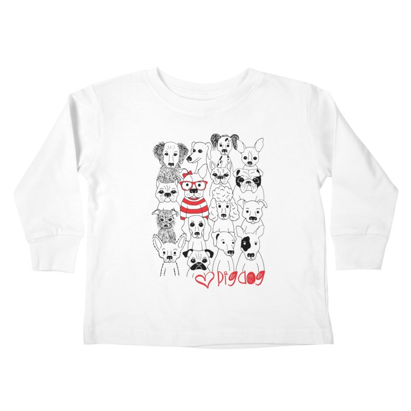 Where's Stella Kids Toddler Longsleeve T-Shirt by Pigdog