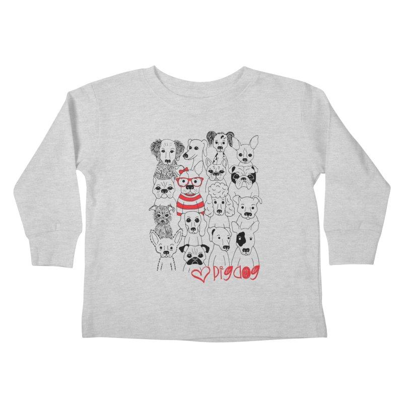 Where's Stella Kids Toddler Longsleeve T-Shirt by Pigdog