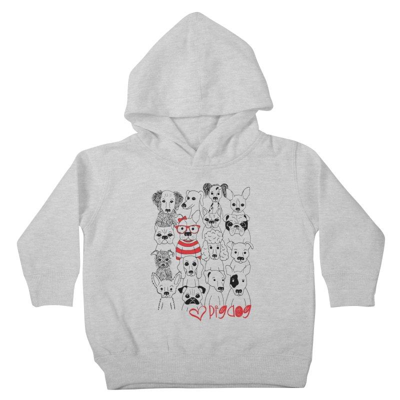 Where's Stella Kids Toddler Pullover Hoody by Pigdog
