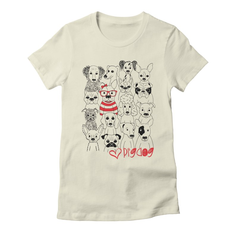 Where's Stella Women's Fitted T-Shirt by Pigdog