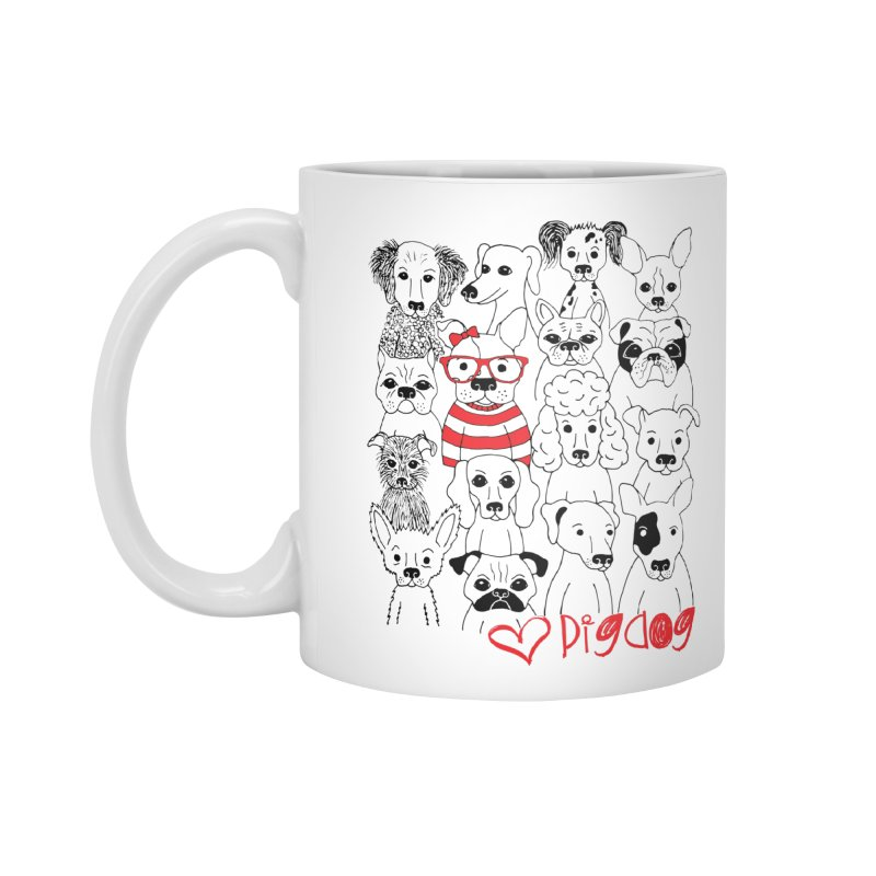Where's Stella Accessories Standard Mug by Pigdog