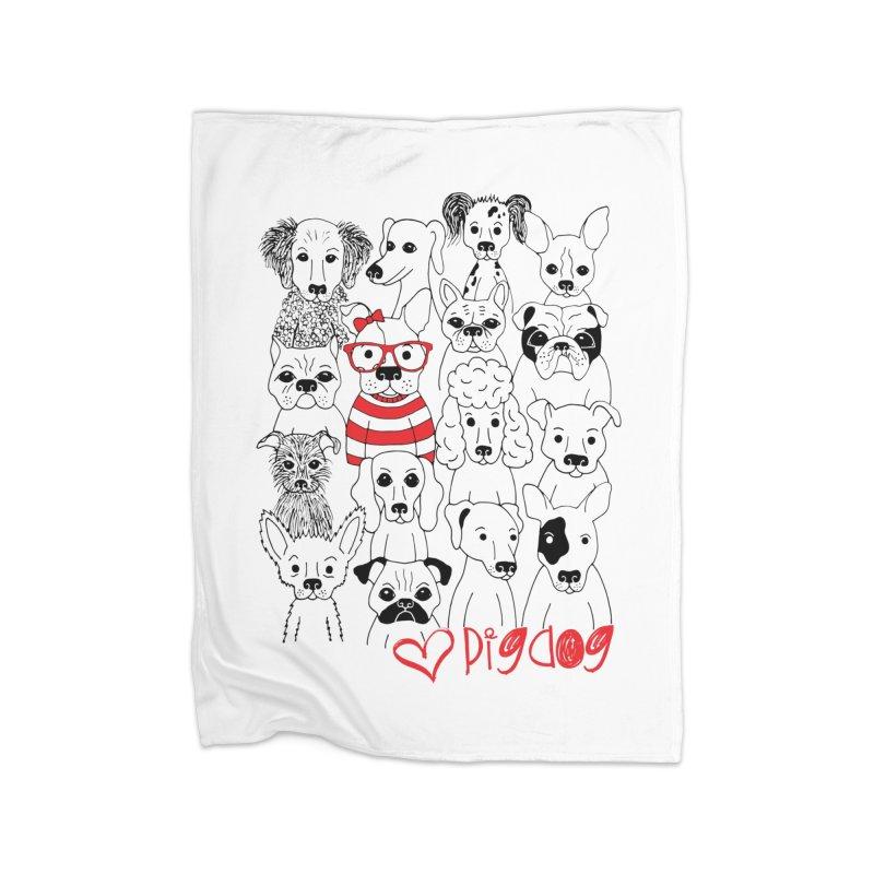 Where's Stella Home Blanket by Pigdog