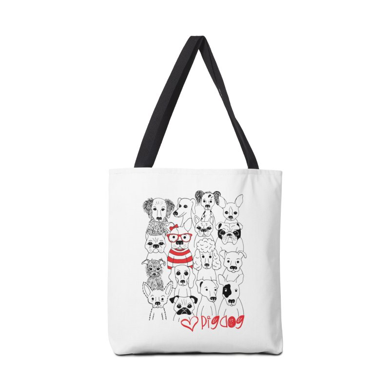 Where's Stella Accessories Tote Bag Bag by Pigdog