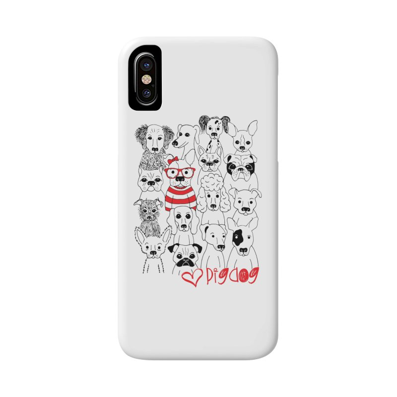Where's Stella Accessories Phone Case by Pigdog