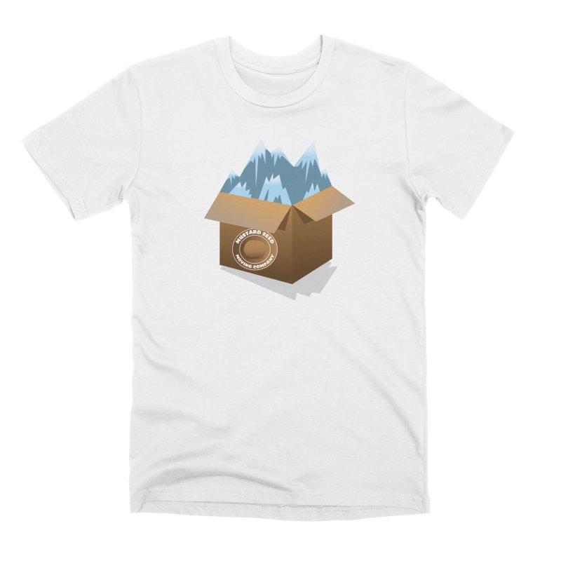 Mustard Seed Moving Company Men's T-Shirt by Pigment Studios Merch