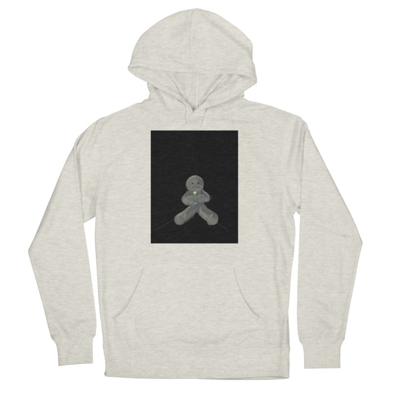 Human Voodoo Women's French Terry Pullover Hoody by Pigment Studios Merch