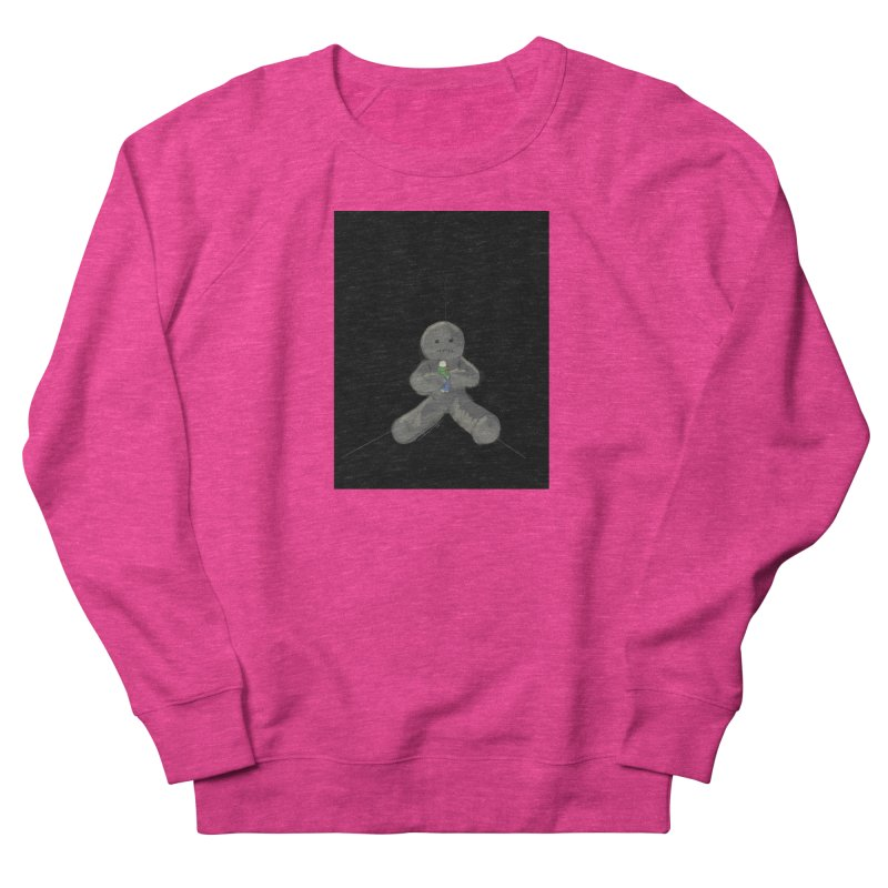Human Voodoo Women's French Terry Sweatshirt by Pigment Studios Merch