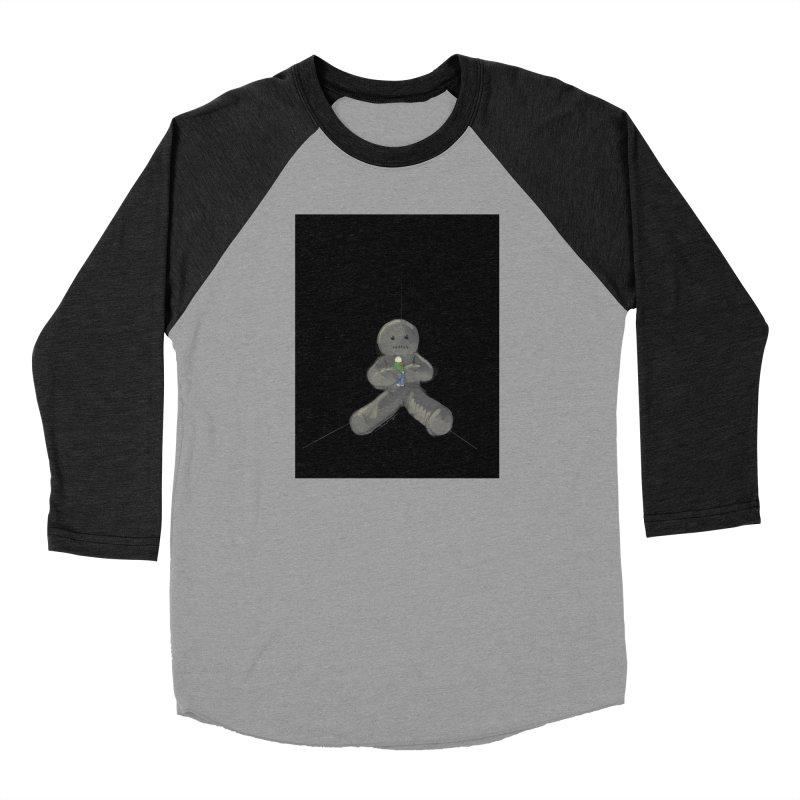 Human Voodoo Women's Baseball Triblend Longsleeve T-Shirt by Pigment Studios Merch