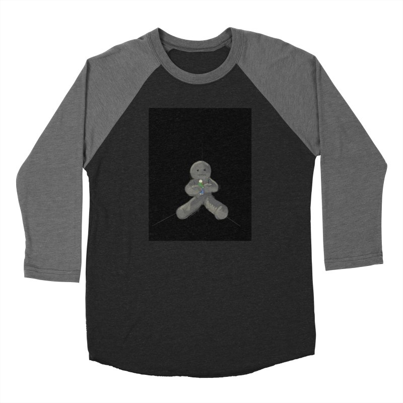 Human Voodoo Men's Baseball Triblend Longsleeve T-Shirt by Pigment Studios Merch