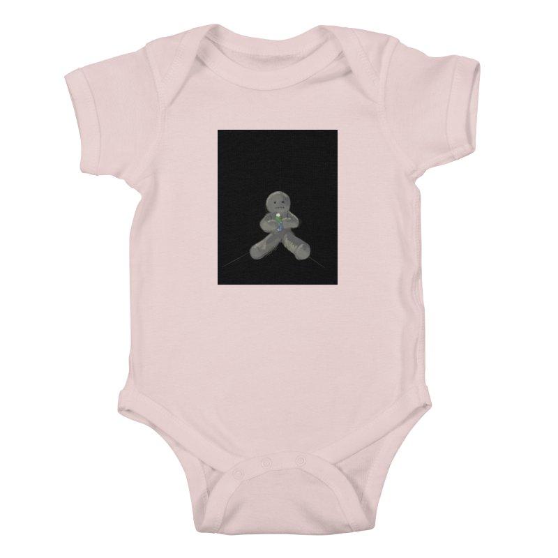 Human Voodoo Kids Baby Bodysuit by Pigment Studios Merch