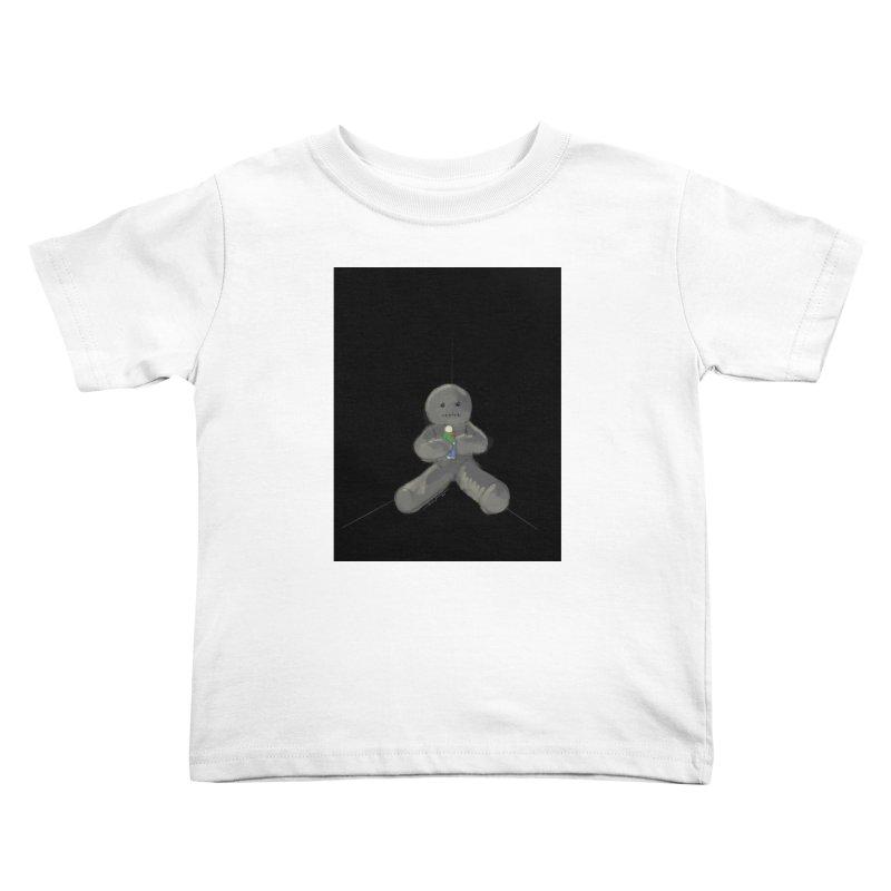 Human Voodoo Kids Toddler T-Shirt by Pigment Studios Merch