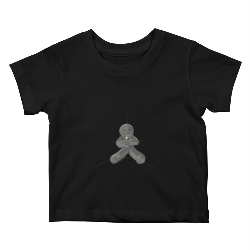 Human Voodoo Kids Baby T-Shirt by Pigment Studios Merch