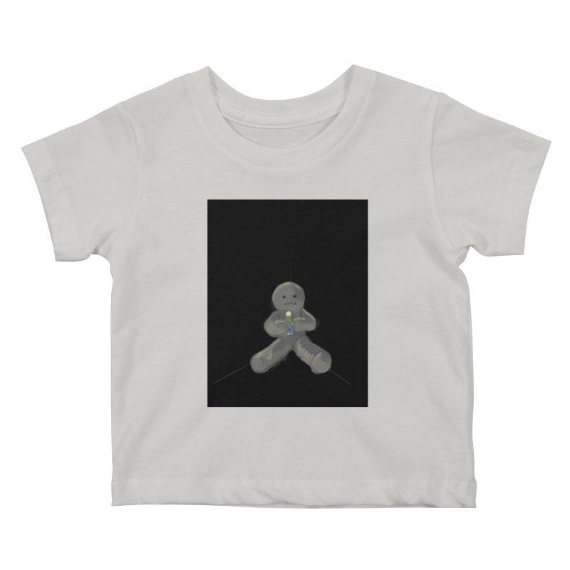 Human Voodoo Kids Baby T-Shirt by Pigment Studios Merch