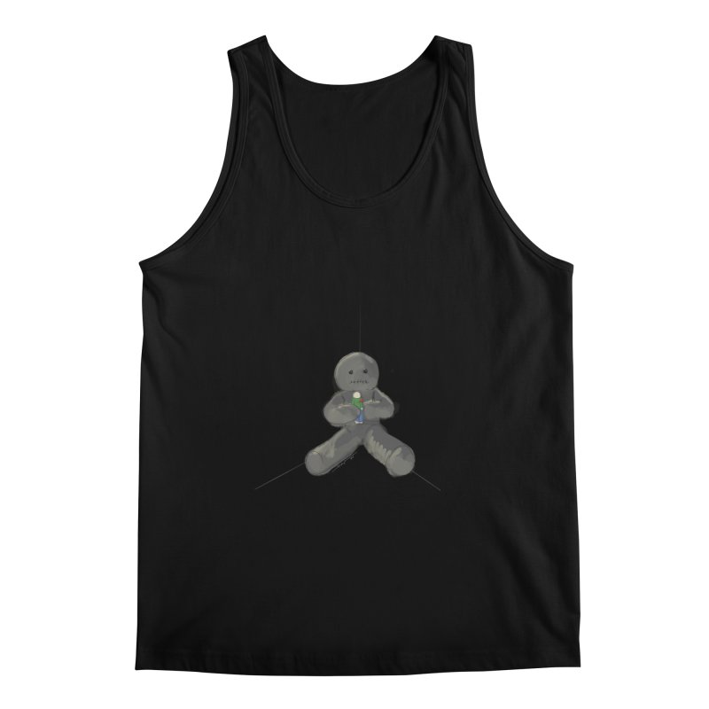 Human Voodoo Men's Regular Tank by Pigment Studios Merch
