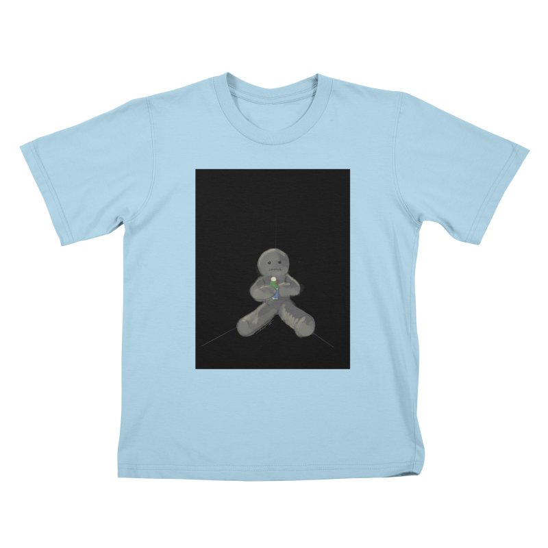 Human Voodoo Kids T-Shirt by Pigment Studios Merch