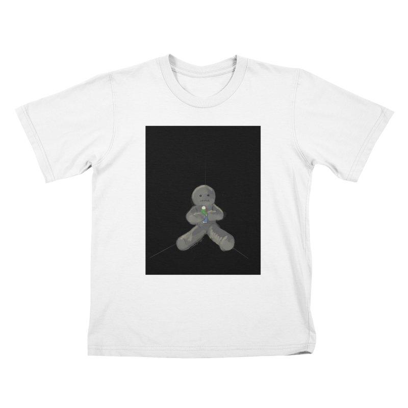 Human Voodoo Kids T-Shirt by Pigment Studios Merch