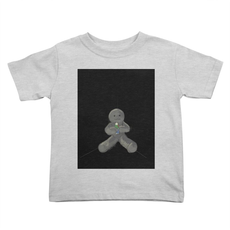 Human Voodoo Kids Toddler T-Shirt by Pigment Studios Merch