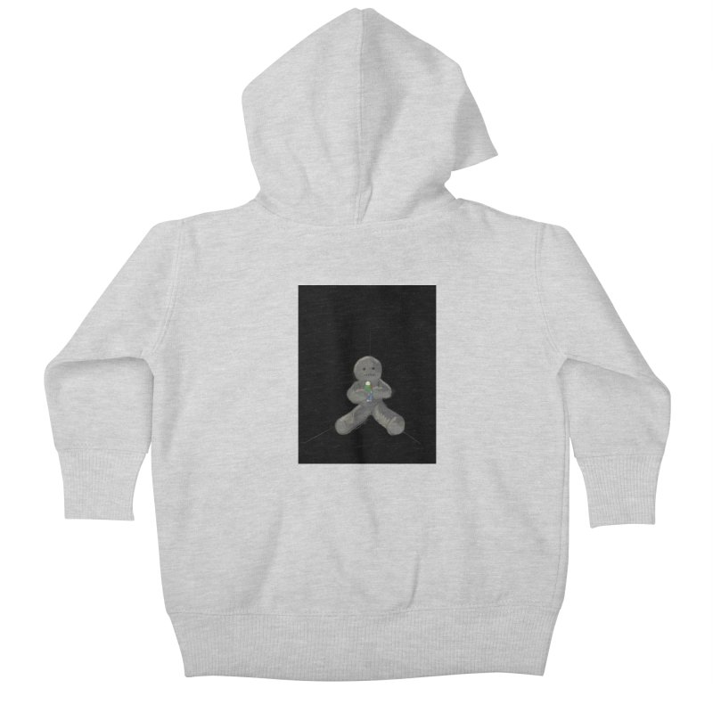 Human Voodoo Kids Baby Zip-Up Hoody by Pigment Studios Merch