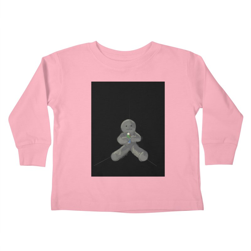 Human Voodoo Kids Toddler Longsleeve T-Shirt by Pigment Studios Merch