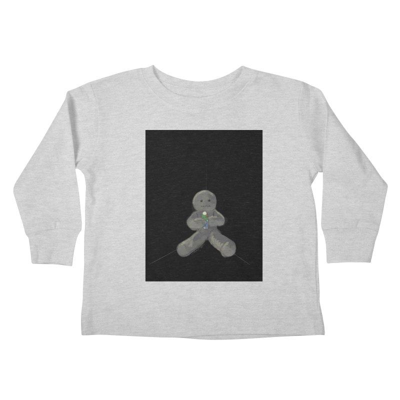Human Voodoo Kids Toddler Longsleeve T-Shirt by Pigment Studios Merch