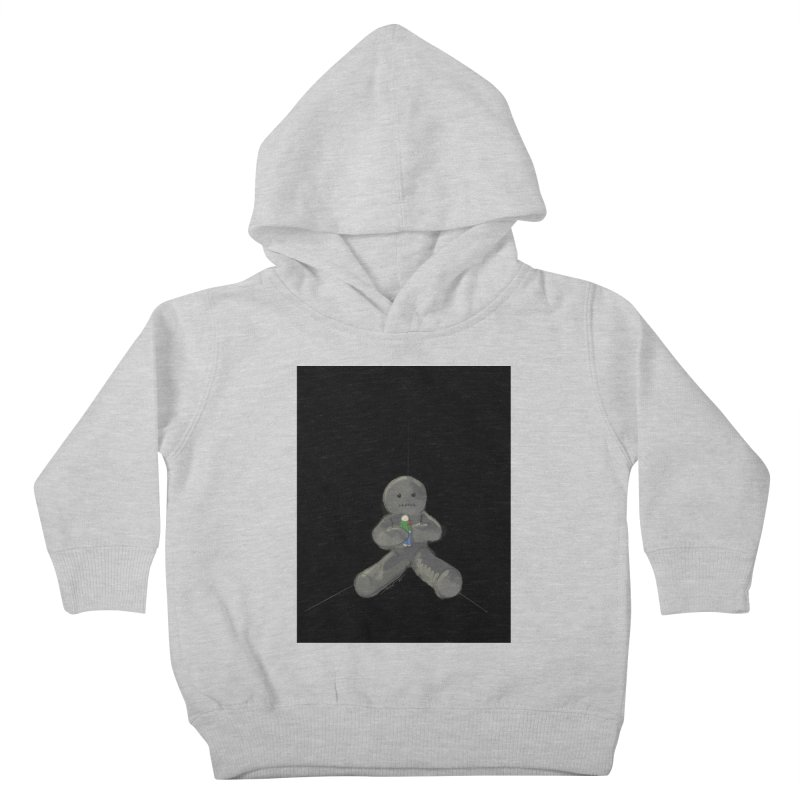 Human Voodoo Kids Toddler Pullover Hoody by Pigment Studios Merch