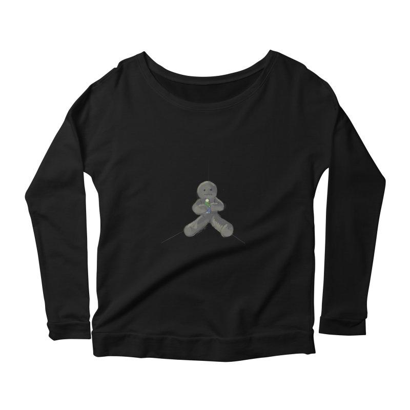 Human Voodoo Women's Scoop Neck Longsleeve T-Shirt by Pigment Studios Merch