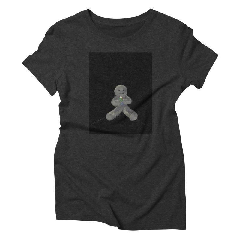 Human Voodoo Women's Triblend T-Shirt by Pigment Studios Merch