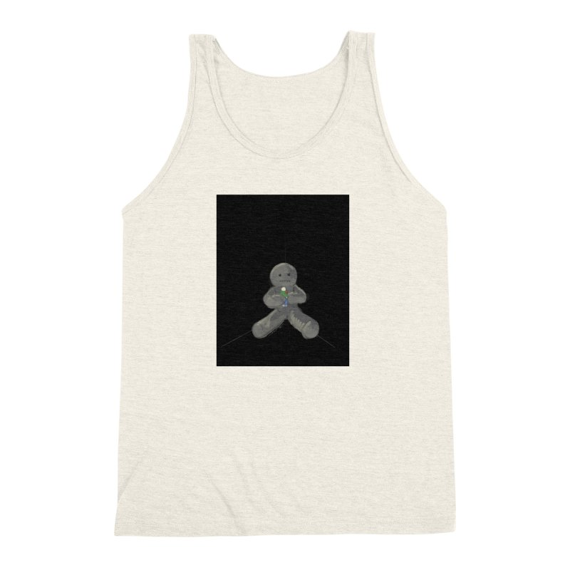 Human Voodoo Men's Triblend Tank by Pigment Studios Merch
