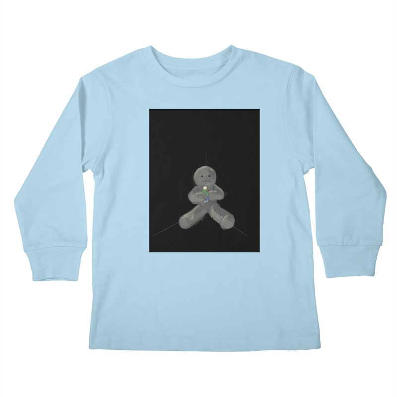 Human Voodoo Kids Longsleeve T-Shirt by Pigment Studios Merch