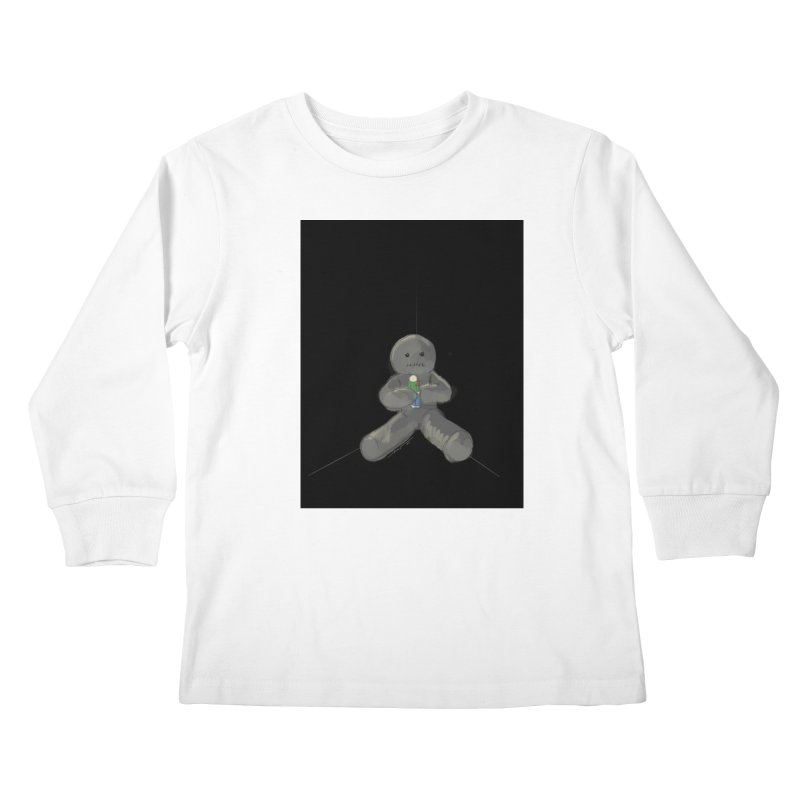 Human Voodoo Kids Longsleeve T-Shirt by Pigment Studios Merch