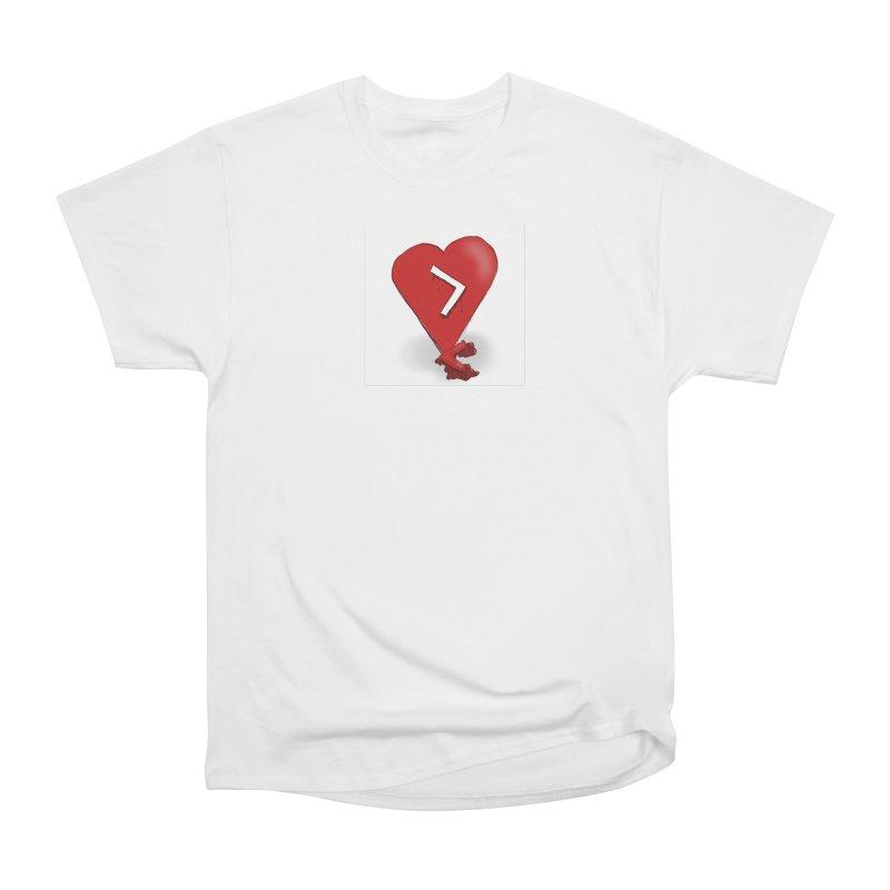 Less than... Men's Heavyweight T-Shirt by Pigment Studios Merch