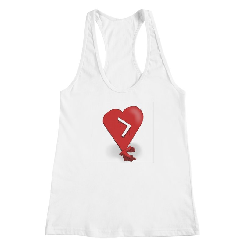 Less than... Women's Racerback Tank by Pigment Studios Merch