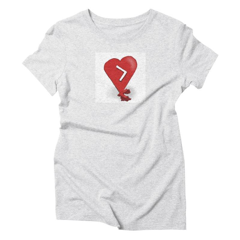 Less than... Women's Triblend T-Shirt by Pigment Studios Merch