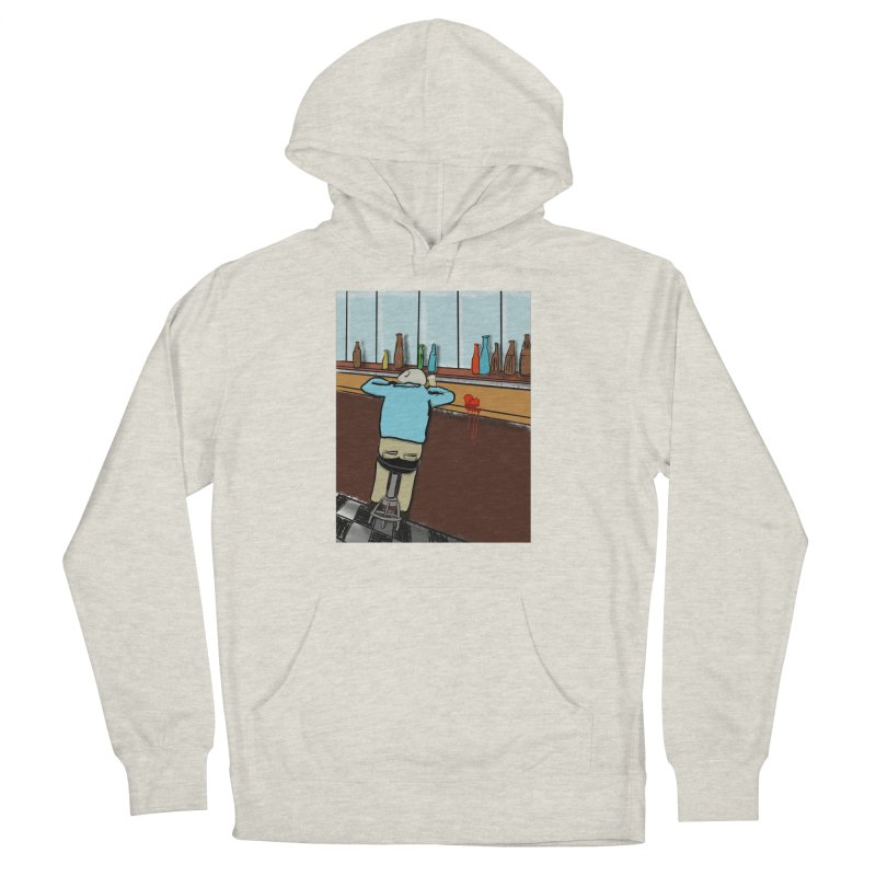 Drinking with a Broken Heart Women's Pullover Hoody by Pigment Studios Merch