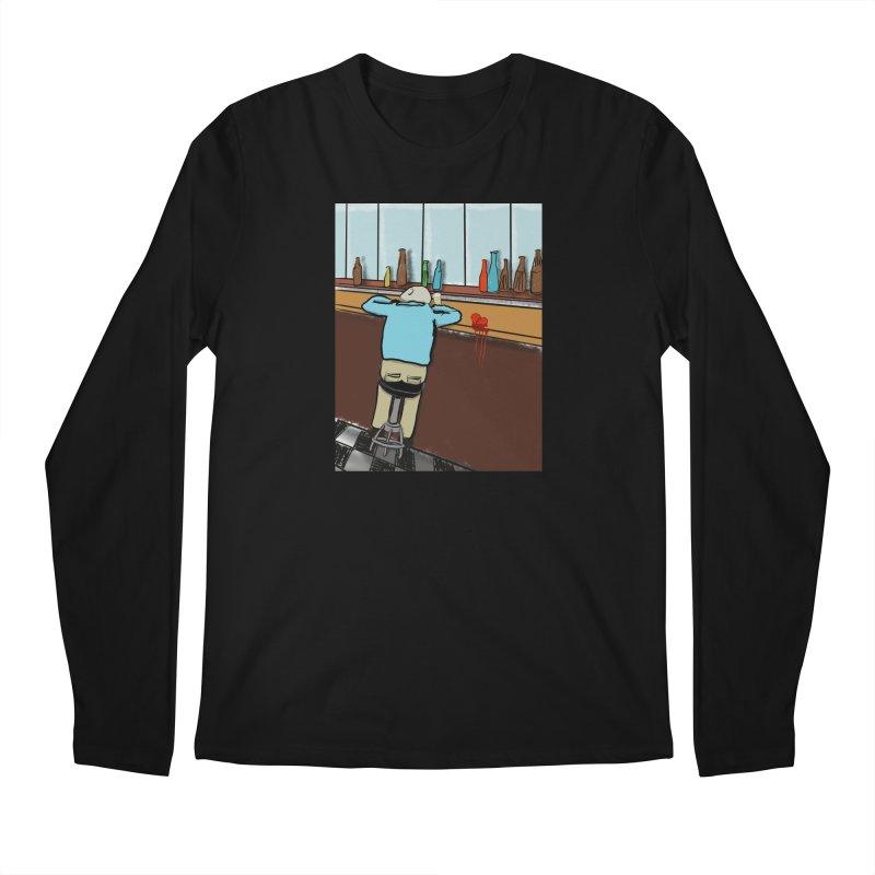 Drinking with a Broken Heart Men's Longsleeve T-Shirt by Pigment Studios Merch