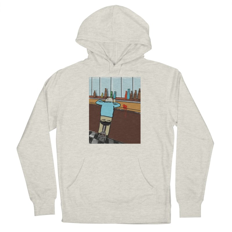 Drinking with a Broken Heart Men's French Terry Pullover Hoody by Pigment Studios Merch
