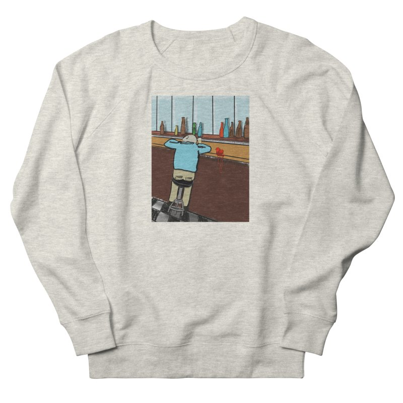 Drinking with a Broken Heart Men's French Terry Sweatshirt by Pigment Studios Merch
