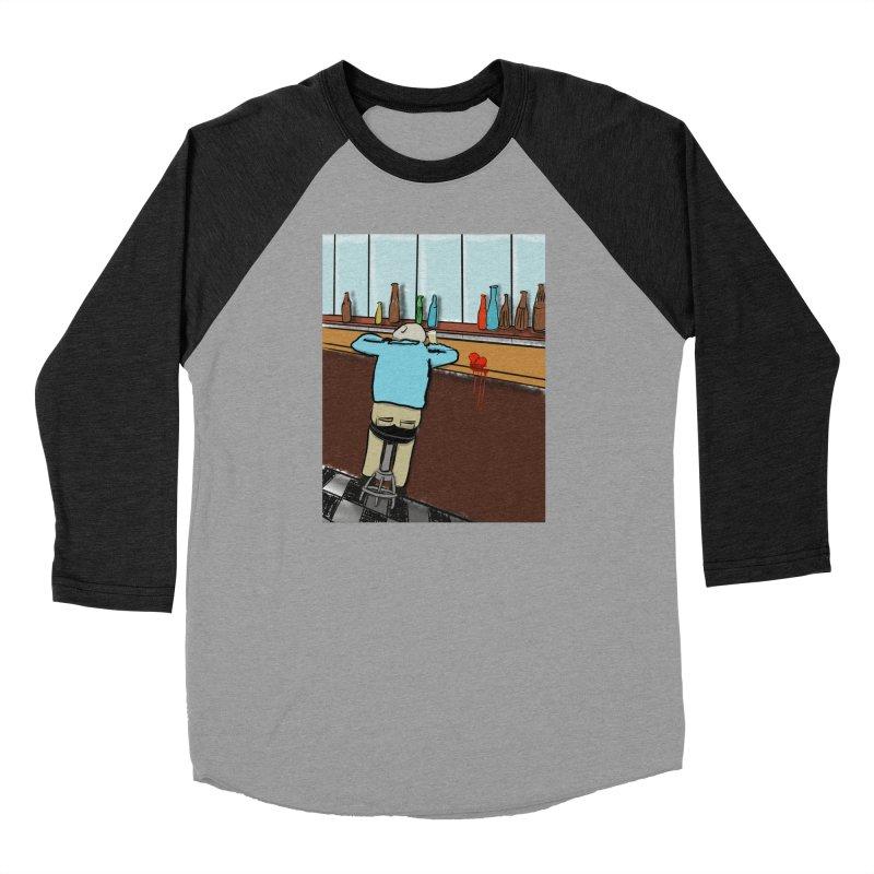 Drinking with a Broken Heart Women's Baseball Triblend Longsleeve T-Shirt by Pigment Studios Merch