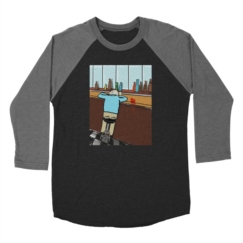 Drinking with a Broken Heart Men's Baseball Triblend Longsleeve T-Shirt by Pigment Studios Merch