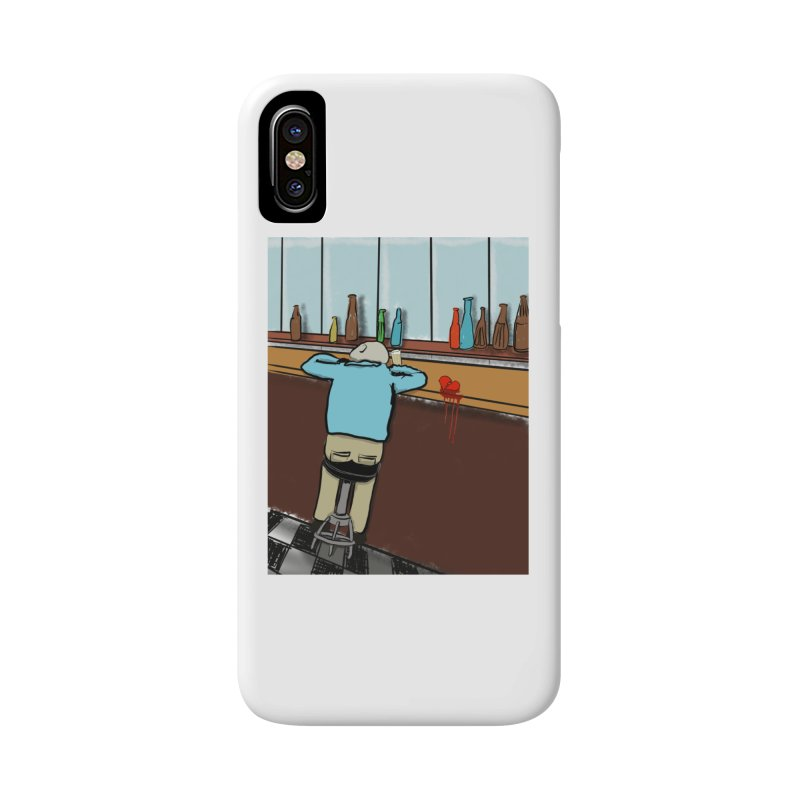 Drinking with a Broken Heart Accessories Phone Case by Pigment Studios Merch
