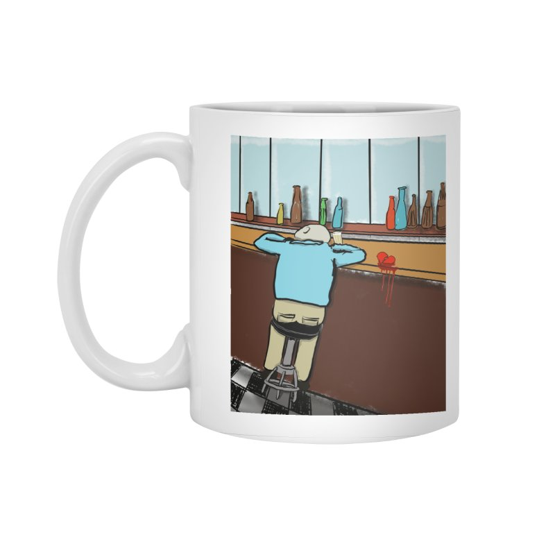 Drinking with a Broken Heart Accessories Mug by Pigment Studios Merch