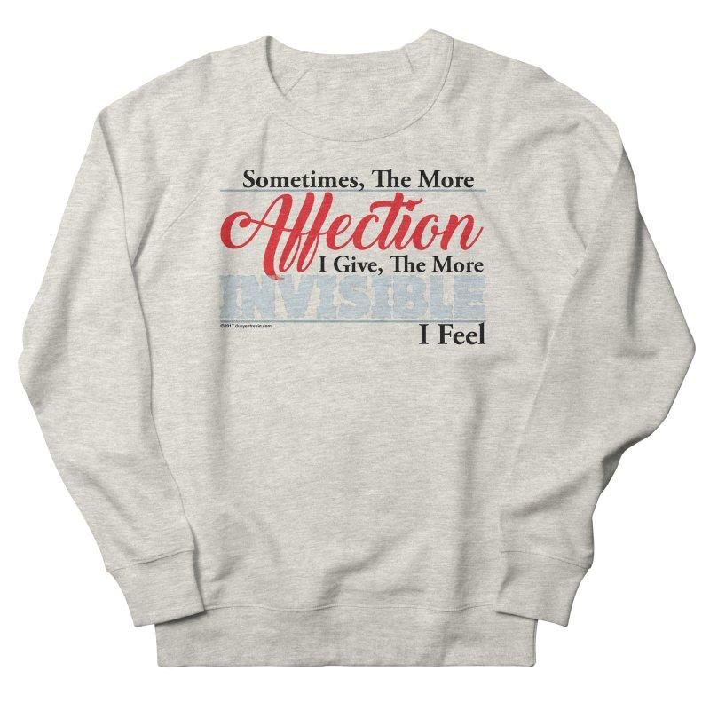Invisible Affection Men's Sweatshirt by Pigment Studios Merch